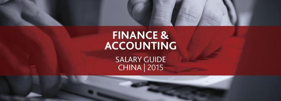 2015 Finance & Accounting Salary Guide
