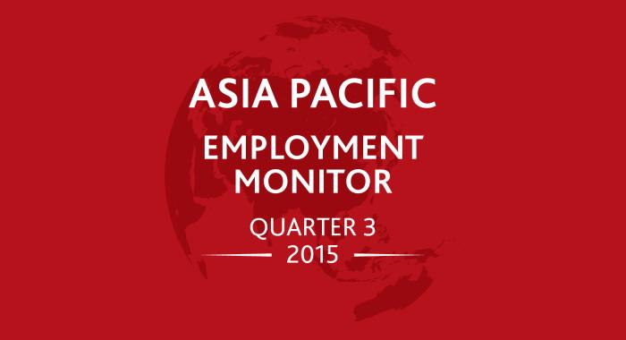 APAC Employment Monitor Q3 2015 [infographic]