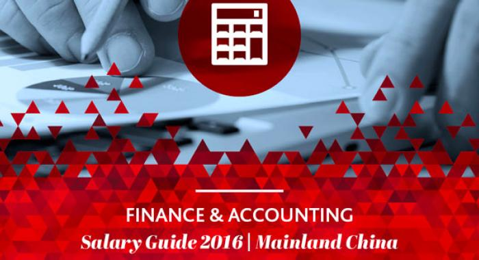 2016 Finance & Accounting Salary Guide