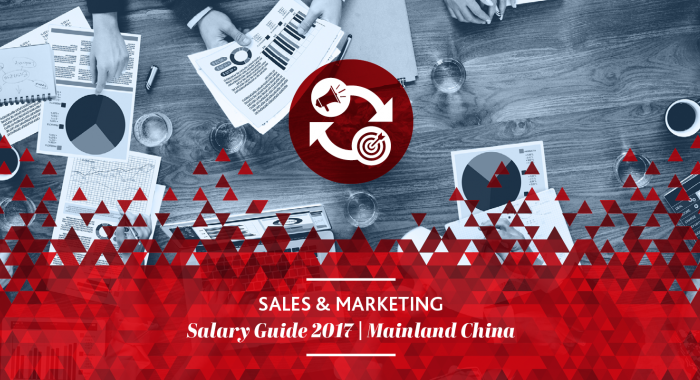2017 Sales & Marketing  Salary Guide
